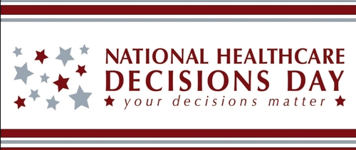 April 16 is National Healthcare Decisions Day   North Florida ...